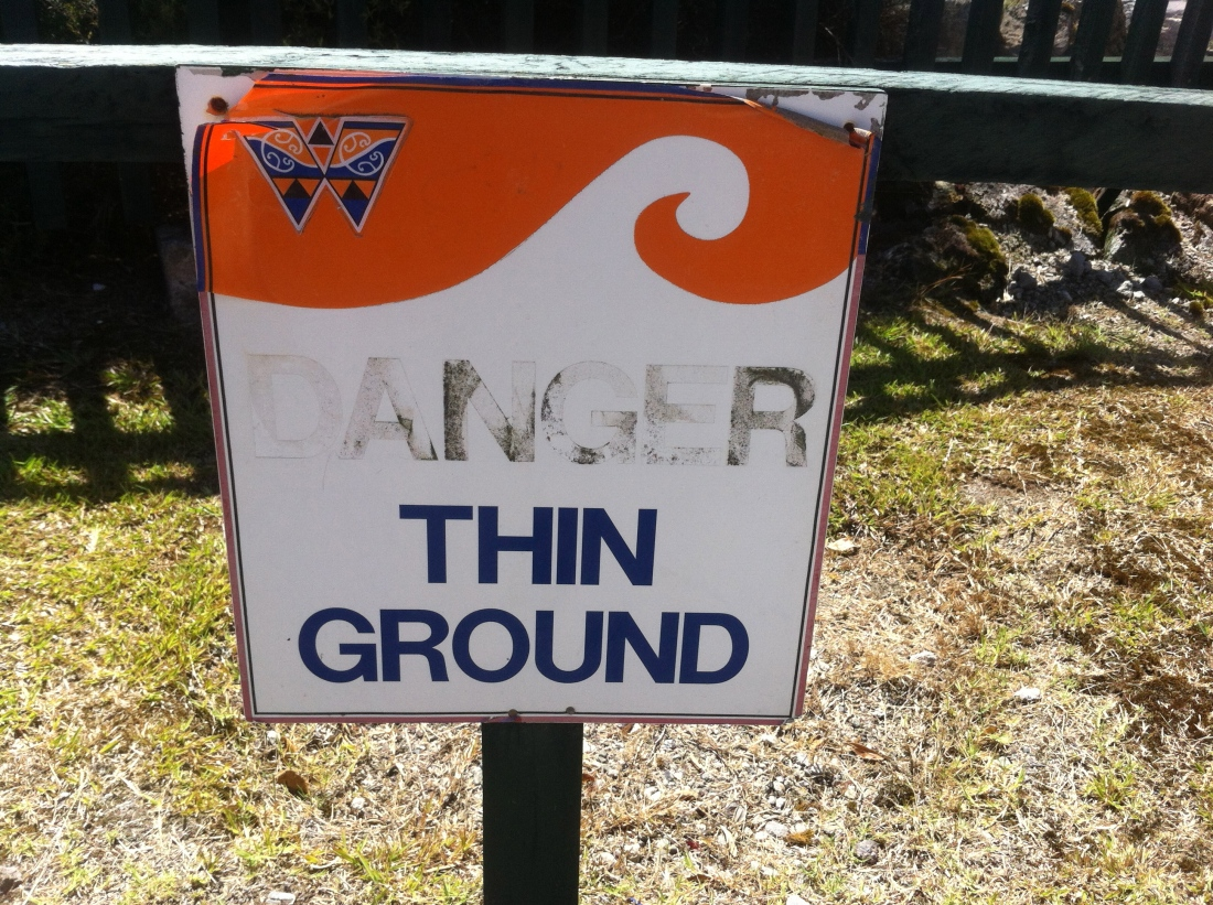 thin ground